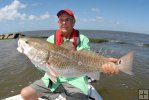 Ponderous jetty redfish