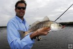 Danny Leibach with redfish